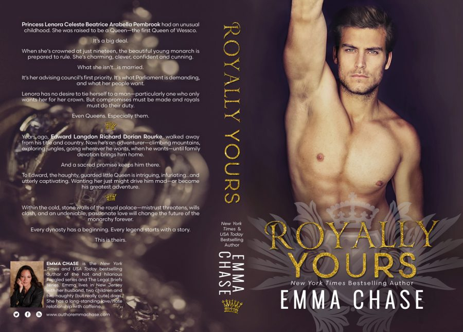 ROYALLY YOURS (Royally Series #4) by Emma Chase (Full Cover)