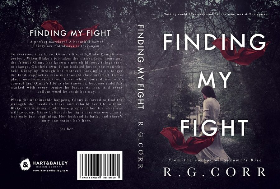FINDING MY FIGHT by R.G. Corr (Full Cover)