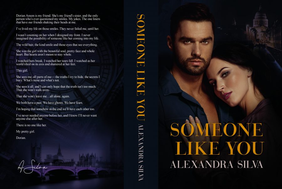SOMEONE LIKE YOU (Imperfect Hearts #3) by Alexandra Silva (Full Cover)