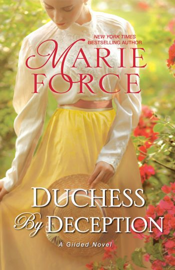 DUCHESS BY DECEPTION (Gilded #1) by Marie Force