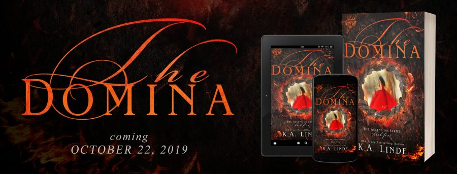 THE DOMINA Cover Reveal