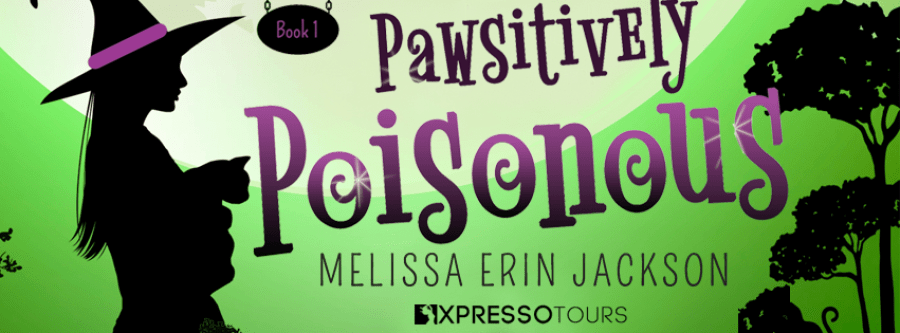 PAWSITIVELY POISONOUS Cover Reveal