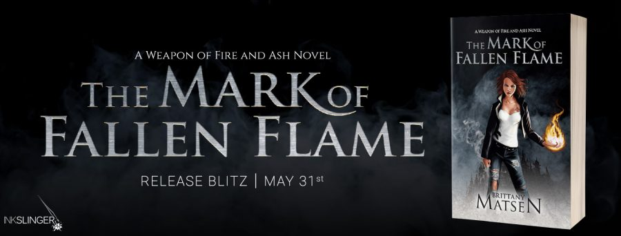 THE MARK OF THE FALLEN FLAME Release Day