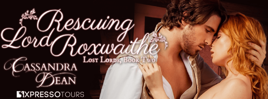 RESCUING LORD ROXWAITHE Cover Reveal
