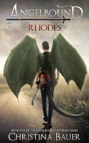 RHODES (Angelbound Offspring #4) by Christina Bauer
