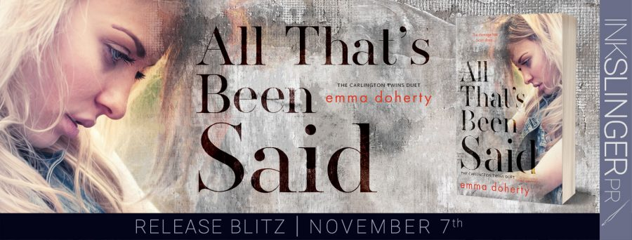 ALL THAT'S BEEN SAID Release Day