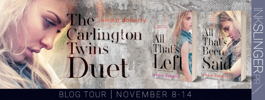 ALL THAT'S BEEN SAID Blog Tour
