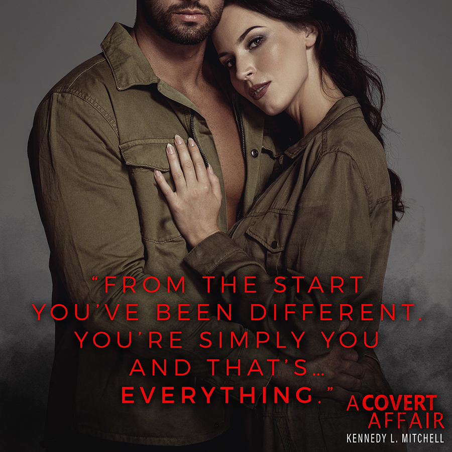 Teaser from A COVERT AFFAIR, a stand alone adult romantic suspense by Kennedy L. Mitchell