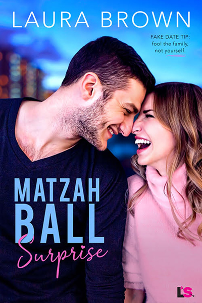 Cover for MATZAH BALL SURPRISE, a stand-alone adult contemporary romantic comedy by Laura Brown, releasing March 16, 2020