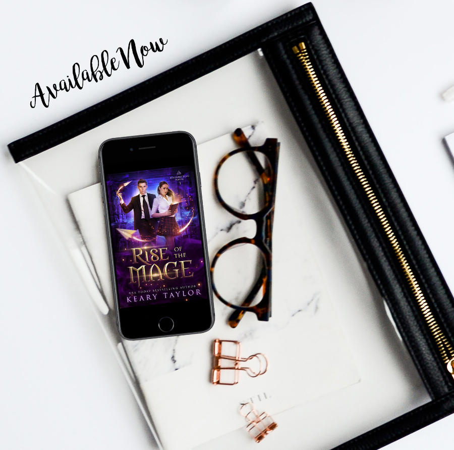 RISE OF MAGE, the first book in the adult paranormal romance series, Resurrecting Magic, by USA Today bestselling author, Keary Taylor, is available now