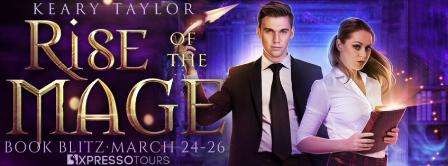 Welcome to the book blitz for RISE OF MAGE, the first book in the new adult paranormal romance series, Resurrecting Magic, by USA Today bestselling author, Keary Taylor