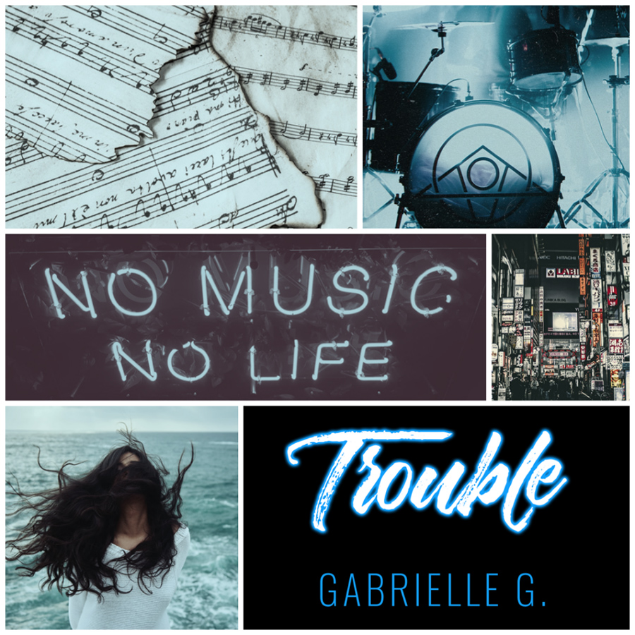 Teaser from TROUBLE (Darling Devils Series #2) by Gabrielle G., releasing May 12, 2020