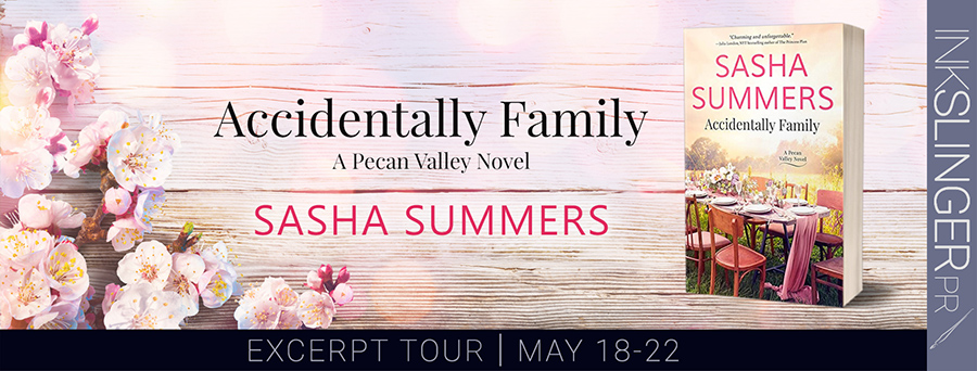 Welcome to the pre-order blitz for SUDDENLY FAMILY, the latest release in the adult contemporary romance series, Pecan Valley, by Sasha Summers, releasing May 26, 2020