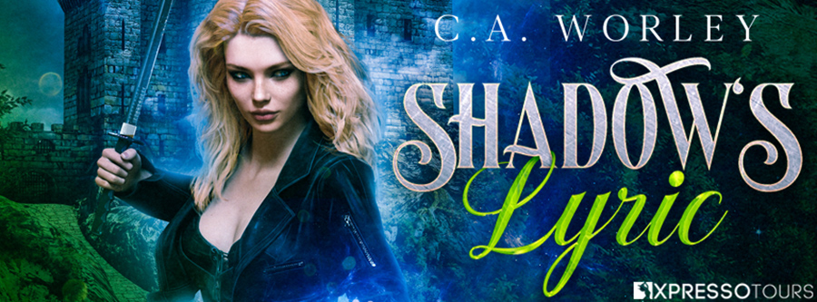Author C.A. Worley is unveiling the cover to SHADOW'S LYRIC, the first book in her adult fantasy/paranormal romance series, Crossing Daggers, releasing June 1, 2020