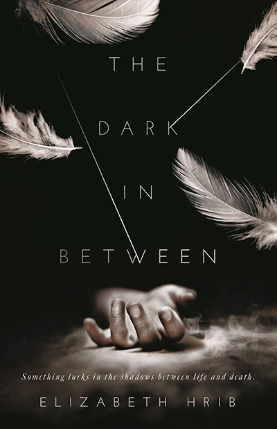 Cover for THE DARK IN-BETWEEN, a standalone young adult paranormal romance, by Elizabeth Hrib
