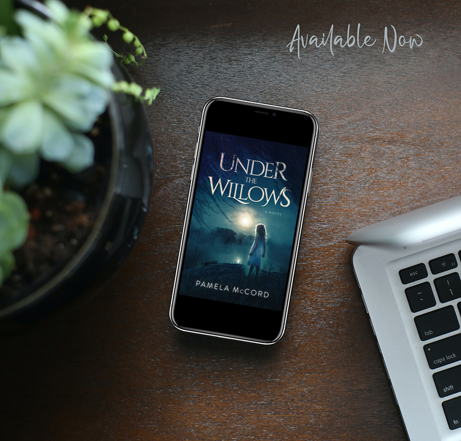 UNDER THE WILLOWS, a stand-alone adult mystery by Pamela McCord, is available now