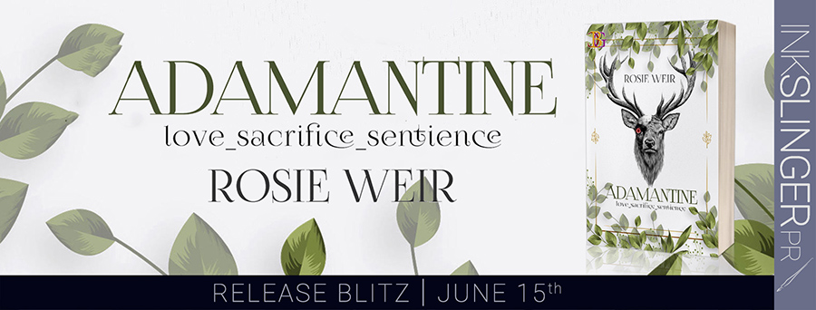Today is release day for ADAMANTINE, an adult scifi romance, by Rosie Weir
