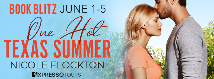 Welcome to the book blitz for ONE HOT TEXAS SUMMER the first book in the adult contemporary romance series, Prentice Brothers of Sweet Ridge, by Nicole Flockton