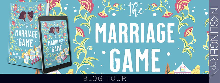 Welcome to the blog tour for THE MARRIAGE GAME, a stand-alone adult contemporary romance, by Sara Desai, One of Oprah Magazine's Most Anticipated Romances of 2020