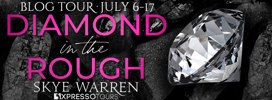 Welcome to the blog tour for DIAMOND IN THE ROUGH, a stand-alone adult contemporary dark romance, by New York Times bestselling author, Skye Warren