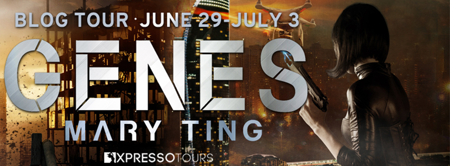 Welcome to the blog tour for GENES, the third book in the young adult sci-fi/dystopian adventure series, ISAN, by Mary Ting
