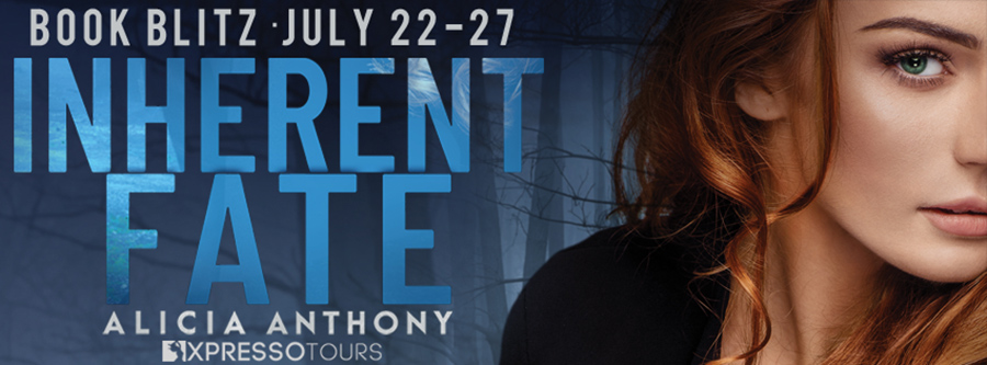 Welcome to the book blitz for INHERENT FATE, the first book in the adult psychological suspense series, Blood Secrets, by Alicia Anthony