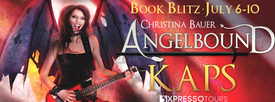 Welcome to the book blitz for KAPS, the fourth book in the young adult fantasy/paranormal romance series, Angelbound Offspring, by Christina Bauer