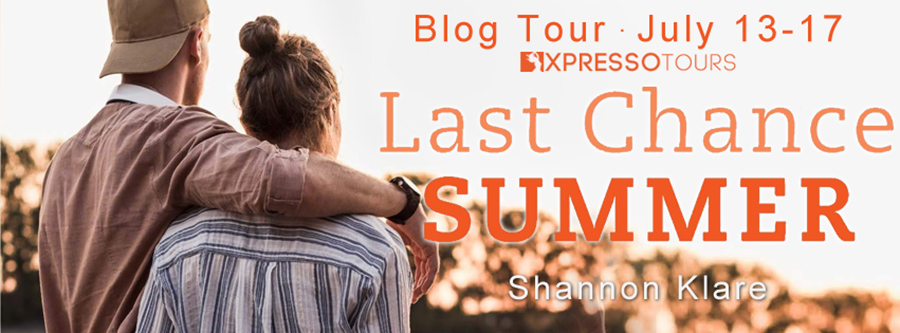 Welcome to the blog tour for LAST CHANCE SUMMER, a standalone young adult contemporary romance by Shannon Klare