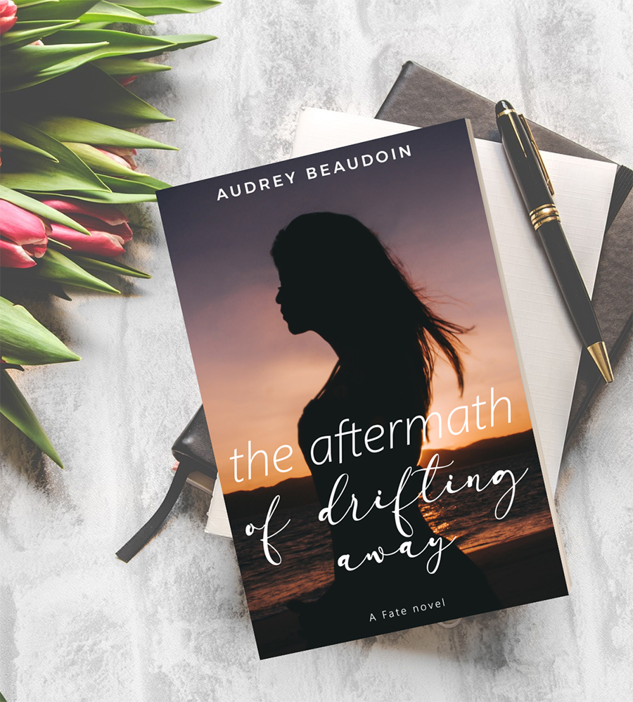 THE AFTERMATH OF DRIFTING AWAY, the first book in the new adult contemporary romance series, Fate, by Audrey Beaudoin