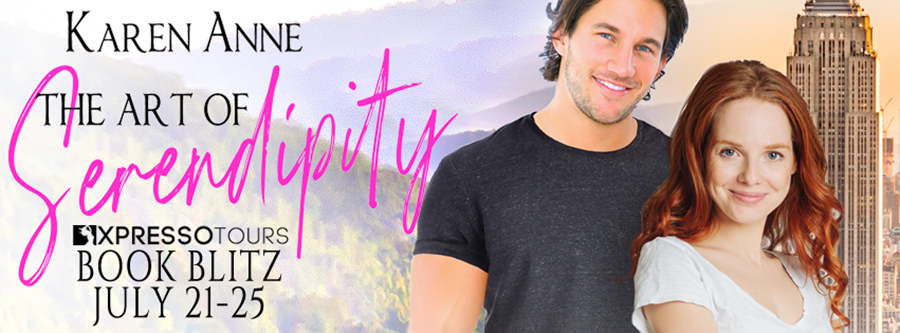 Welcome to the book blitz for THE ART OF SERENDIPITY, a standalone adult contemporary romance, by Karen Anne