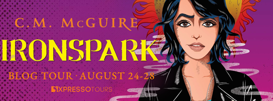 Welcome to the blog tour for IRONSPARK , a stand-alone young adult LGBTQ+ paranormal romance, by C.M. McGuire.