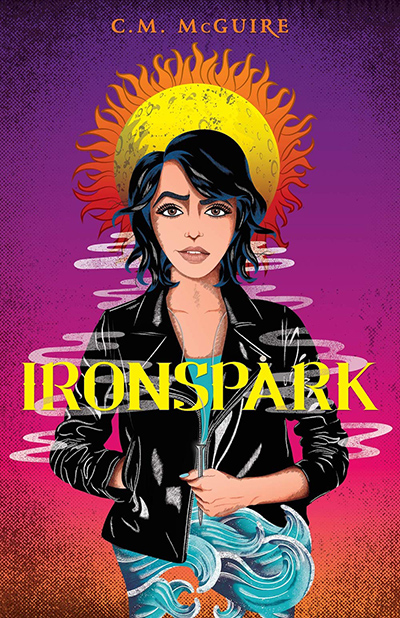IRONSPARK , a stand-alone young adult LGBTQ+ paranormal romance, by C.M. McGuire