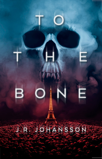 TO THE BONE, a stand-alone young adult thriller, by J.R. Johansson