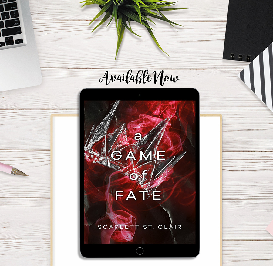 A GAME OF FATES (Hades and Persephone Series #1.5) by Scarlett St. Clair