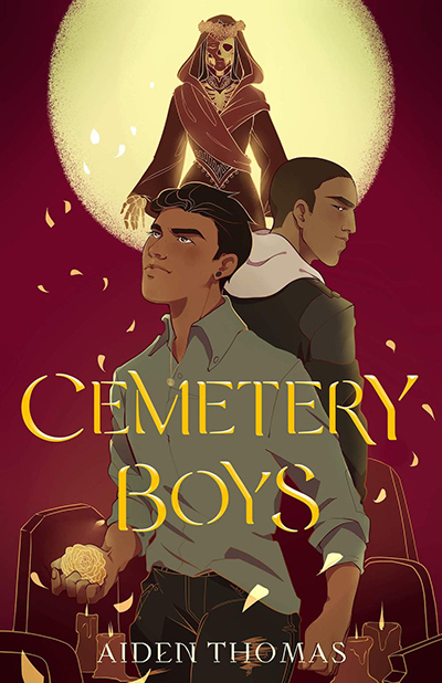 CEMETERY BOYS, a stand-alone young adult paranormal, by Aiden Thomas