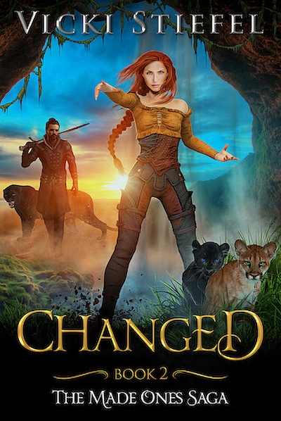 CHANGED, the second book in the adult fantasy romance series, The Made Ones Saga, by Vicki Stiefel