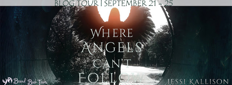 Welcome to the book blitz for WHERE ANGELS CAN'T FOLLOW, a standalone young adult fantasy, by Jessi Kallison.