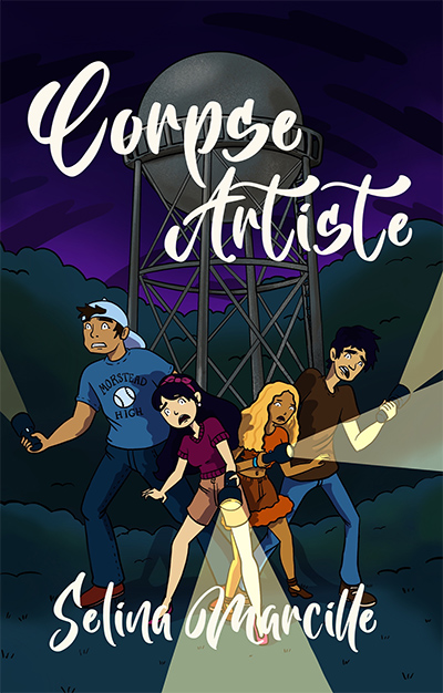 CORPSE ARTISTE, a young adult mystery, by Selina Marcille