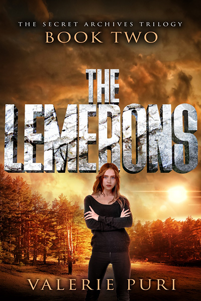 THE LEMERONS, the second book in the young adult dystopian series, The Secret Archives Trilogy, by Valerie Puri