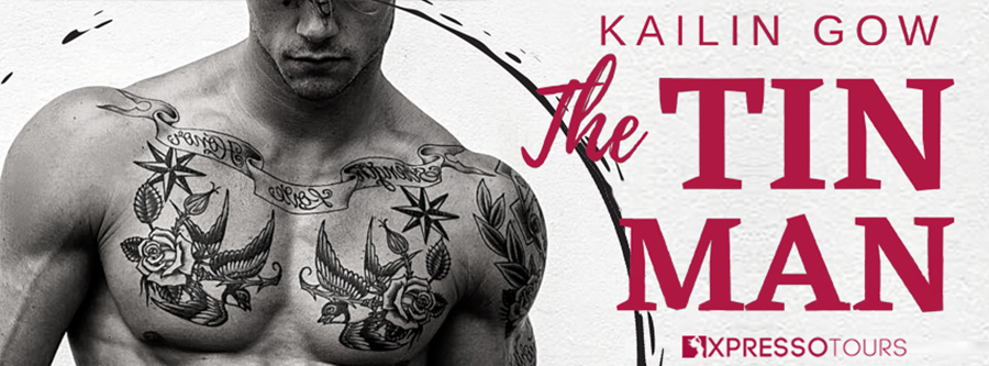 USA Today bestselling author Kailin Gow is revealing the cover to THE TIN MAN, the first book in her adult romantic suspense/romantic thriller series, Inner Circle, releasing December 8, 2020