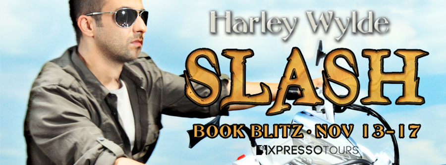 Welcome to the book blitz for SLASH, the seventh book in the adult contemporary romance series, Devil's Fury MC, by Harley Wylde