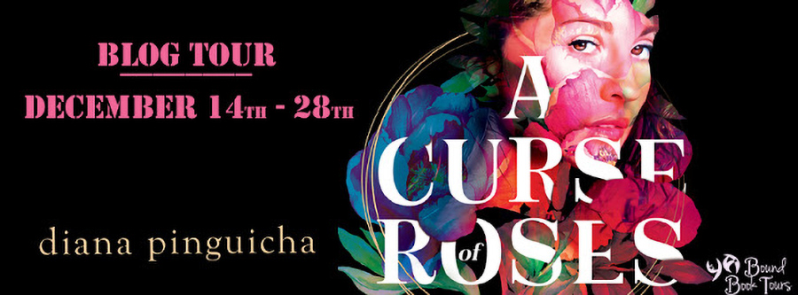 Welcome to the blog tour for A CURSE OF ROSES, a young adult LGBTQ+ own voices fantasy, by Diana Pinguicha