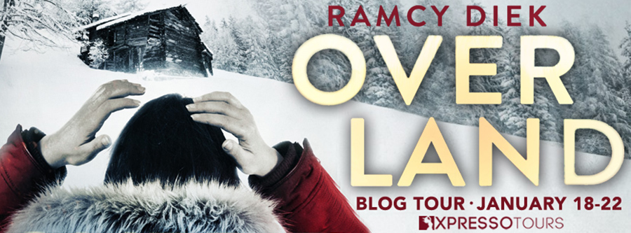 Welcome to the blog tour for OVERLAND, a stand-alone adult romantic thriller, by Ramcy Diek