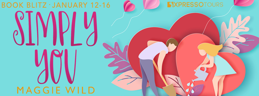 Welcome to the book blitz for SIMPLY YOU, the first book in the adult contemporary romance series, Hope Valley Romance, by Maggie Wild