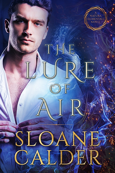 THE LURE OF AIR, the second book in her adult paranormal romance series, Natura Elementals,
