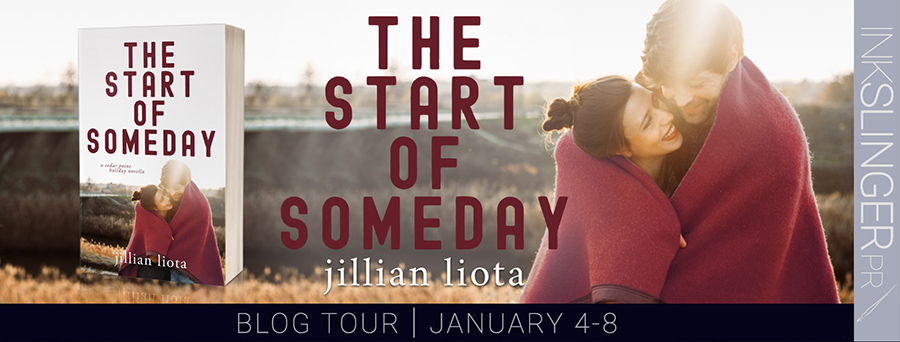 Today is release day for THE START OF SOMEDAY, the third book in the adult contemporary romance series, Cedar Point, by Jillian Liota