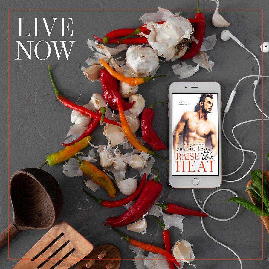 RAISE THE HEAT, the second book in the adult contemporary romance series, Beastly Bosses, by New York Times bestselling author Cassia Leo is Now Available!
