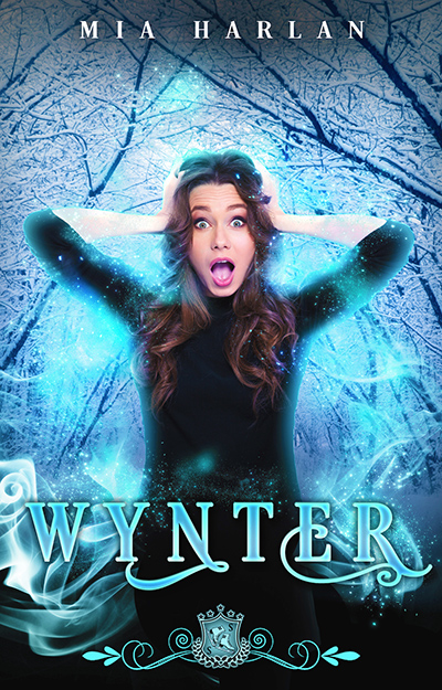 WYNTER, the first book in the adult paranormal romantic comedy series, Silver Skates, by Mia Harlan