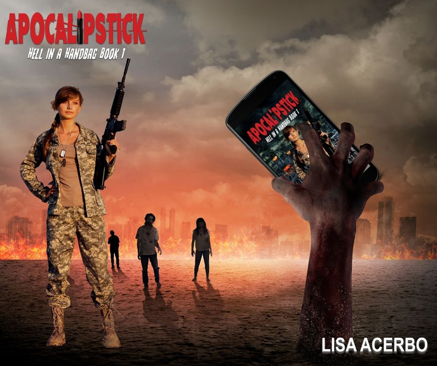 APOCALIPSTICK, the first book in the young adult/new post-apocalyptic adventure, Hell in a Handbag,, by Lisa Acerbo out now!