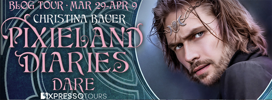 Welcome to the blog tour for DARE, the third book in the young adult fantasy/paranormal romance series, Pixieland Diaries, by Christina Bauer